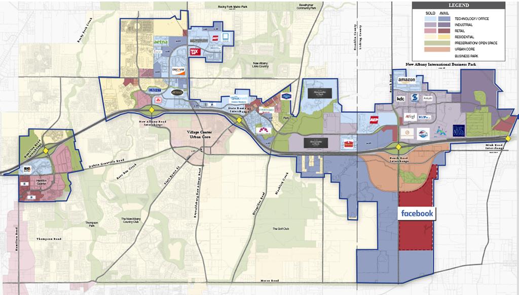 Maps The New Albany Company